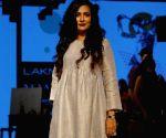 Mini Mathur during the Lakme Fashion Week Winter/Festive 2017