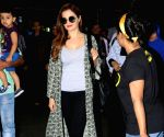 Monica Bedi spotted at airport