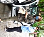 Neetu Kapoor seen at Bandra