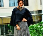Neha Dhupia during a promotional programme