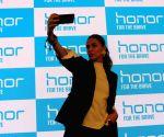 Neha Dhupia launches Huawei Honor 7A, Honor 7C smartphones