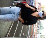 Neha Sharma seen at Mumbai Airport