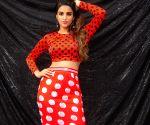 Nidhhi Agerwal at a photo shoot