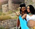 "Nikita Rawal with Vikram Roy making her debut with Telugu film ""Timpa"