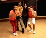 Nora Fatehi seen at a dance class
