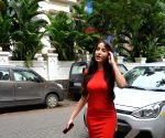 Nora Fatehi seen at Mumbai's Bandra