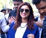 Parineeti Chopra in Rajasthan to attend sister Priyanka's wedding