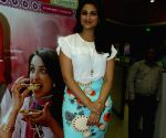 Film Daawat-E-Ishq promotions at BIG FM Studios