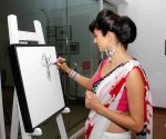 Art preview of artist Rekha Rana