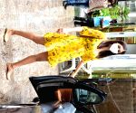 Pooja Hegde seen at Bandra