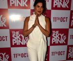 "Priyanka Chopra, Rohit Suresh Saraf during ""The Sky Is Pink"" promotions"