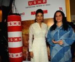 Priyanka Chopra visits Usha International Hab