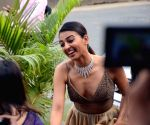 Radhika Apte during a programmme
