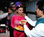 Rakhi Sawant Celebrates Ramdas Athawale's induction into Ministry
