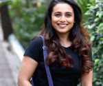 "Promotion of film ""Hichki"" - Rani Mukerji"