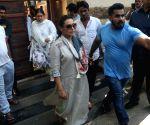 Rani Mukerji seen outside Ajay Devgn's house