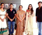 Rani Mukherjee meets Gujarat CM