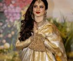 Sonam Kapoor and Anand Ahuja's wedding reception - Rekha