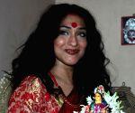 Lakshmi Puja at Rituparna Sengupta's home