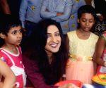Rituparna Sengupta inaugurates an amusement park