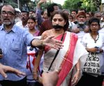 Intellectuals demonstrate against WB CM