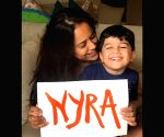 Sameera Reddy shares a video of her daughter Nyra Varde