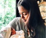 Sameera Reddy's son Hans is 'fascinated' with his baby sister, See pic!