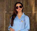 Sana Khan dubs for film Toilet Ek Prem Katha