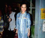 Sanjeeda Shaikh seen at Mumbai's Bandra