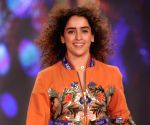 Sanya Malhotra at launch new cosmetic collection