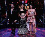 "Sara Ali Khan on the sets of ""Love Me India"