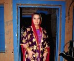 Shabana Azmi on the sets of Ammaji tv serial
