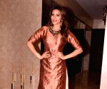 Shama Sikander during the special shoot on the occasion of Diwali
