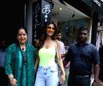 Shilpa Shetty, Sunanda Shetty seen at Bandra