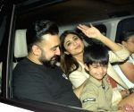 Rani Mukerji's daughter Adira's birthday celebration at Yashraj Studios