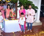 Shilpa Shetty during Ganesh 'Visarjan