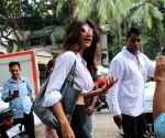 Shilpa Shetty seen at Juhu