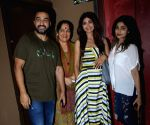 Shilpa Shetty and her family seen at Juhu