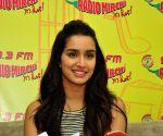 Shraddha Kapoor promotes film Baaghi at Radio Mirchi Studio