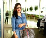 Sophie Choudry spotted at airport