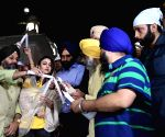 Candle march to condenm for Sikh genocide 1984 - Soha Ali Khan