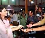 : Mumbai: Promotion of film 31st October at Andhericha Raja Ganesh Mandal