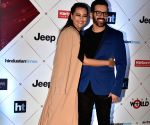 "HT India's Most Stylish Awards"" - Sonakshi Sinha and Luv Sinha"