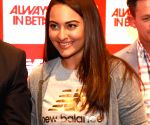 Sonakshi Sinha during a programme