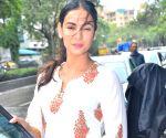 Sonal Chauhan seen at Mukesh Chabra's office