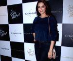 Launch of Manish Malhotra X Chandon Champagne bottles - Sonali Bendre