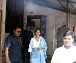 Sonam Kapoor Ahuja spotted at a dubbing studio