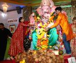Sonam Kapoor at Andheri cha Raja pandal