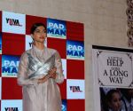 "Promotion of film ""PadMan"" - Sonam Kapoor"