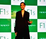 Sonam Kapoor during the promotion of OPPO Mobiles
